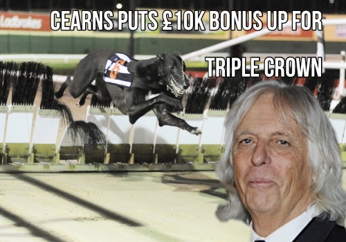 Cearns puts £10k bonus up for Triple Crown